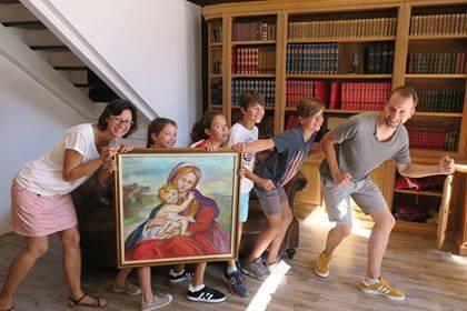 Famille Cambriolage au musée