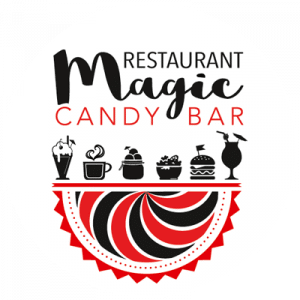 Restaurant Magic Candy Bar - Logo